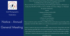 IPF AGM May 12th 2019