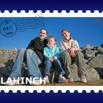 Holiday Postcard Stamp